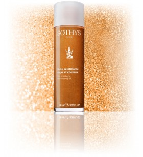 Hair and Body Shimmering Oil