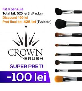 8 pensule esentiale Crown Brush
